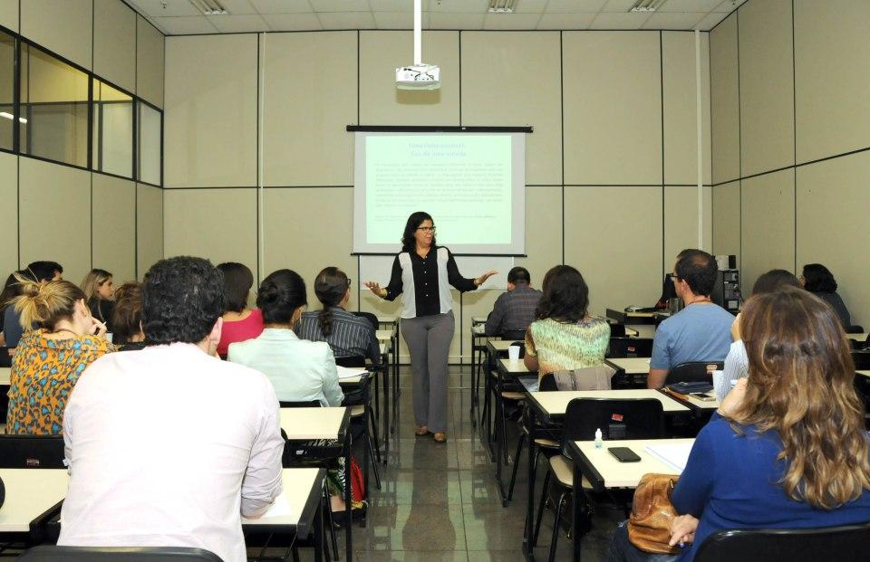 Sônia Caldas Pessoa (professora da UFMG e doutora em Estudos Linguísticos) / Crédito da foto: Ricardo Barbosa/ALMG