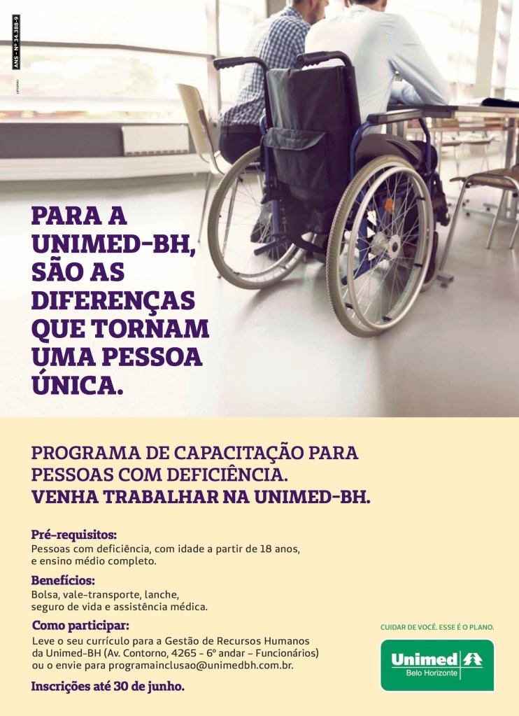 Cartaz_Programa de Capacitação para Pessoas com Deficiência